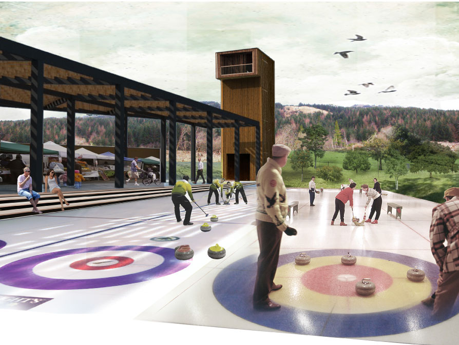 Kilfinan Forest Events Space Curling
