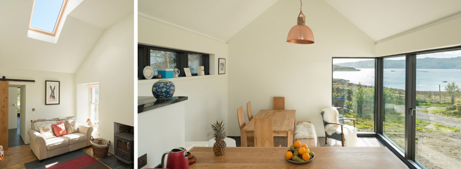 White Cottage Extension Tighnabruaich