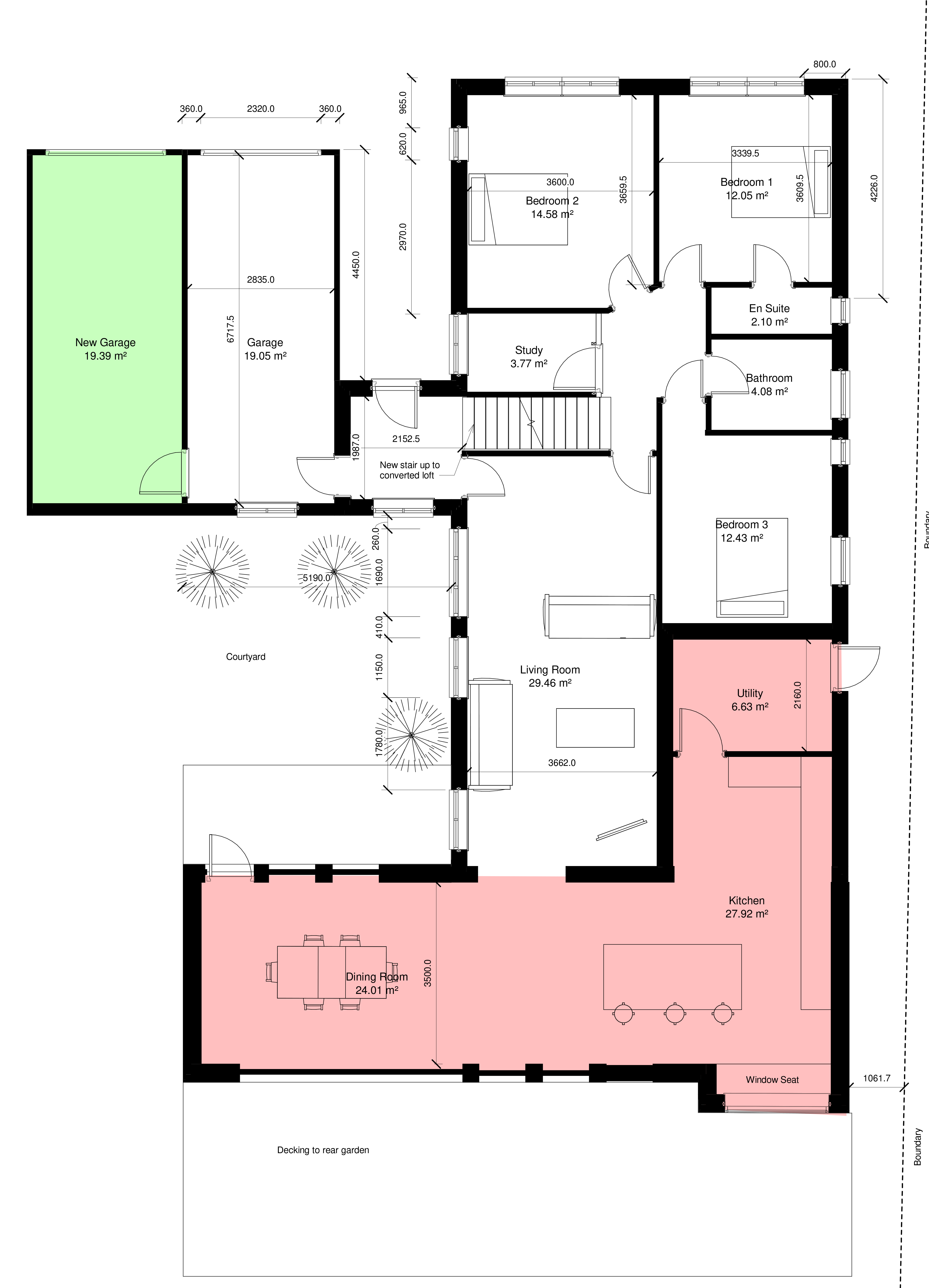 House Extension The Roughs Hive Design Studio